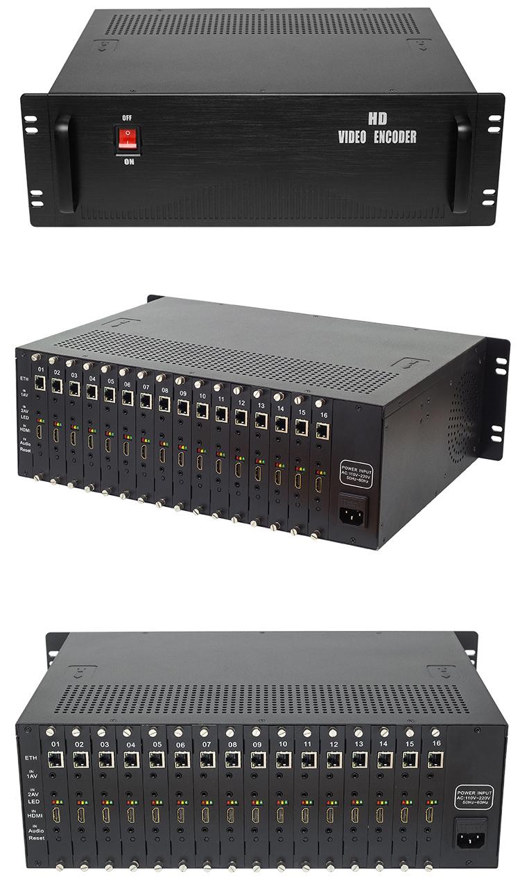 H3162AV 16路高清HDMI+32路标清CVBS编码器
