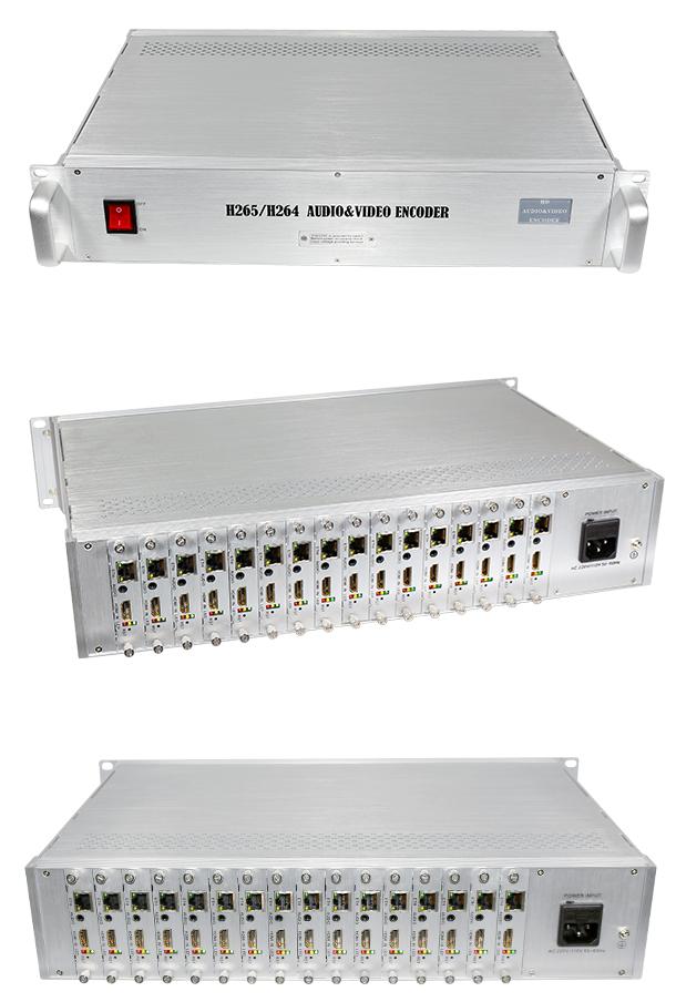 H2160  2U机架式高清HDMI编码器是专业的高清音视频编码