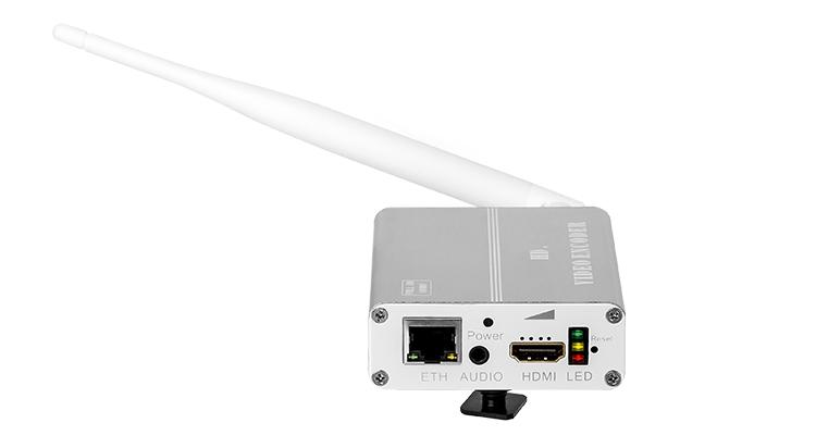 H8118M带锂电带WIFI功能的高清HDMI音视频编码器