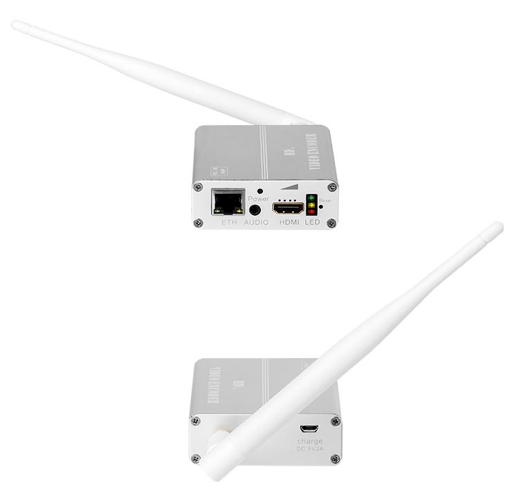 H8118AV-M带锂电带WIFI功能的高清HDMI音视频编码器